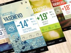 MOSCOW Weather—iOs and Android Weather Mobile App