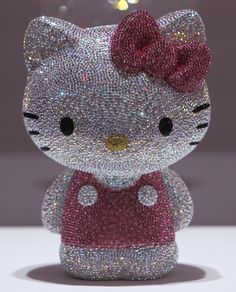 sparkles and hello kitty