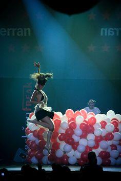 Pasarela Fashion Freak 5 Barcelona - Razzmatazz, escenario mayor.