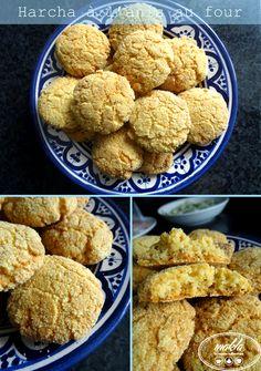 Il y a quelques temps je vous proposais la recette de la harcha, cette galette de semoule au bon goût de beurre, typique de la cuisine marocaine. Voici à présent une autre version, assez différente…