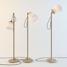 3d models: Floor lamp - Muuto PULL / Whatswhat