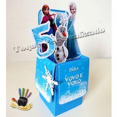 Convite Box - Frozen
