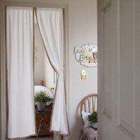 アーチ型のれん カーテン 真っ白でおしゃれ Arched Curtain White Lace Le Jeudi 通販 Yahoo ショッピング カーテン パネルカーテン アーチ