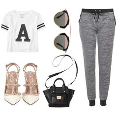 Casual-ty by reginegences on Polyvore featuring polyvore fashion style Aeropostale Topshop Valentino 3.1 Phillip Lim Christian Dior