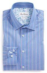 Robert Graham 'Sacco' Tailored Fit Stripe Dress Shirt