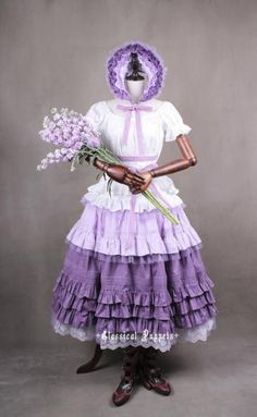 Classical Puppets Victorian Violet Four Piece Set