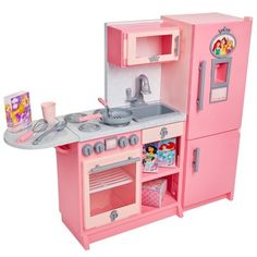 Disney Princess 53112 Style Collection Gourmet Kitchen Playset Multi-colour for sale online Pretend Kitchen, Kids Play Kitchen, Toy Kitchen, Kitchen Sets, Little Girl Toys, Baby Girl Toys, Toys For Girls, Disney Princess Toys, Disney Toys