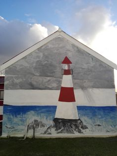 This beautiful mural can be seen at the Lighthouse Kids Church. Tourism Website, Kids Church, Mural Art, Travel And Tourism, Lighthouse, South Africa, Painting, Beautiful, Bell Rock Lighthouse