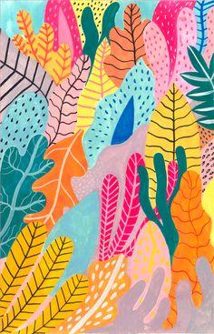 Candy Jungle Art Print by Iisa MAPnttinen - X-Small