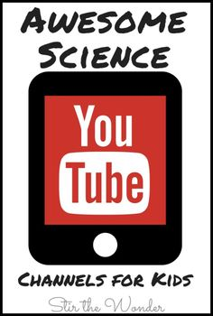 There are so many Awesome Science YouTube channels out there for kids! Here is just a selection of cool channels we have come across!