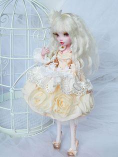 OOAK Monster high doll Vanilla by DanielMinaev.deviantart.com on @DeviantArt