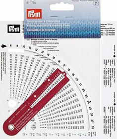 Stitch Counter Knitting Calculator and Counting Frame + Needle Thickness Knitting Gauge, Knitting Stitches, Knitting Needles, Knitting Patterns, Crochet Patterns, Lace Knitting, Diy Crafts Knitting, Sewing Crafts, Stitch Counter