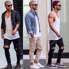 @Kosta_williams  cool men fashion street