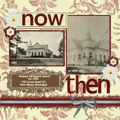 Now & Then - Heritage Family - Gallery - Scrap Girls Digital Scrapbooking Forum