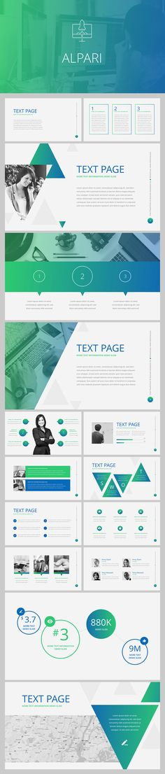 Free Keynote template  - business case templates free
