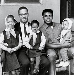 """Turning my back on Malcolm was one of the mistakes that I regret most in my life. I wish I'd been able to tell Malcolm I was sorry, that he was right about so many things. But he was killed before I got the chance. He was a visionary- ahead of us all."" - Muhammad Ali in his book, ""The Soul of a Butterfly: Reflections on Life's Journey"""
