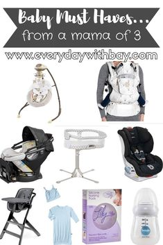As a mom of 3 I've seen and used my fair share of baby products! This phase can be overwhelming & there are so many things to choose from so I'm sharing...