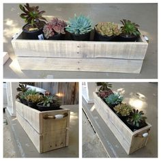 Pallet Planter Box More
