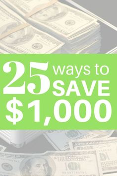Looking for ways to save a LOT of money, without clipping coupons? Save thousands of dollars with these 25 tips! #budget #savemoney
