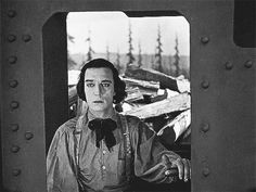 Buster Keaton's Blink- from The General: (can't usually see the point of GIFs but this one is so eloquent!)
