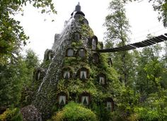 Hotel In A Volcano-Waterfall Is The Sweetest Digs You'll Ever Find