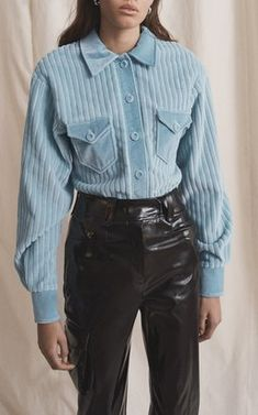 Sophia Button Down Top by Eleanor Balfour Fall Winter 2018