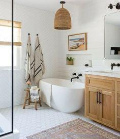 Home Decor Bedroom simple bathroom with Japanese tub.Home Decor Bedroom simple bathroom with Japanese tub Bathroom Renos, Small Bathroom, Bathroom Ideas, Master Bathrooms, Bathroom Inspo, Serene Bathroom, Budget Bathroom, Farmhouse Bathrooms, Bathroom Organization