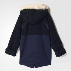 adidas - Parka Wool Fishtail Parka, Adidas, Wool, Sweaters, Products, Fashion, Shopping, Women, Moda