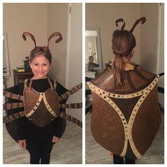 Stink Bug Costume for Girls!