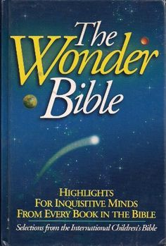 This is a real Bible! It has selected scripture designed for children's interest and so does not include every book( like Job or Ezra) so children can read very easily!