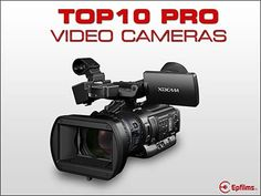 The Top 10 Professional HD Video Cameras What is the Best Pro Camcorder ? Looking for a HD video camera ? The top rated cameras for this year Digital HD Camcorder, Camera Clip Art, Sony, Handheld Camera, Cd Labels, Camera Equipment, Cmos Sensor, Thing 1, Camera Gear