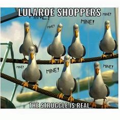"""""""Use the link in my bio, to head over to my Facebook shopping page. Any items listed are available to claim. #lularoeleggings #lularoeaddicts #lularoejulia…"""""""