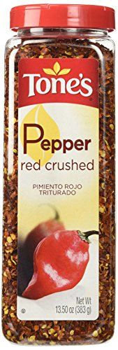 Great Tone's Spices Red Pepper Crushed (13.5 oz), ,