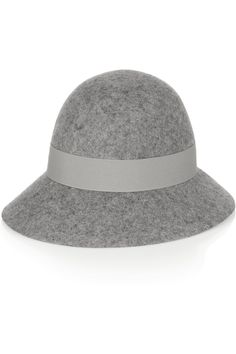 Stella McCartney|Wide-brim wool-felt hat|NET-A-PORTER.COM