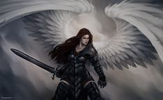 pictures of of angels deviantart | Warrior Angel - 23-06-12 by Lucastorquato27 on deviantART