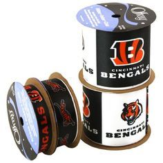 Offray NW7234AZ Cincinnati Bengals Printed Craft Ribbon Pack, 12-Yard by Offray, http://www.amazon.com/dp/B00AAOYAP2/ref=cm_sw_r_pi_dp_JUvRrb029QH76