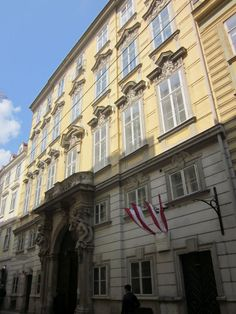 Vienna - Palais Erdödy-Fürstenberg (1724)