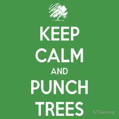 Keep calm Minecraft t-shirt