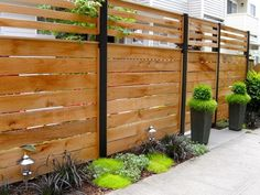 Garden fence panels, backyard privacy, front yard fence, backyard fences, f Diy Backyard Fence, Diy Privacy Fence, Privacy Fence Designs, Garden Fence Panels, Patio Fence, Diy Fence, Backyard Landscaping, Front Yard Fence Ideas, Concrete Fence Wall