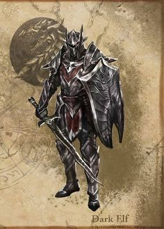 Dunmer (Dark Elf) Armor