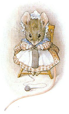 I think if she lived in a shoe-hose, that old woman was surely a mouse! - Appley Dapply Nursery Rhymes, 1917