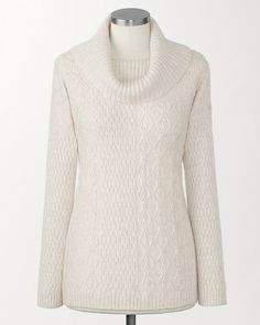 Coldwater Creek Soft touch cable camel sweater from Coldwater Creek on Catalog Spree, my personal digital mall.