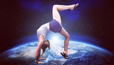 Catching up on day 2 of #HeartARTyoga with the theme of #Space / #Galaxy. #TakeMeToTheStars. #backbend #WheelPose  Thank you to hosts:  @scyogamom  @elsavivar  @raychmtiu @tryahlove @simplemuffin  @fumi_soul by jesikarae_yoga
