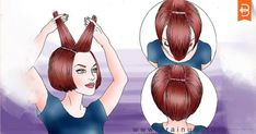 How to Do a Layered Haircut. Layered hair frames and enhances features and gives your hair more volume, making it a great choice for any face shape. Diy Haircut Layers, Haircut Diy, Ponytail Haircut, Cut Own Hair, Trim Your Own Hair, How To Cut Your Own Hair, Cool Short Hairstyles, Diy Hairstyles, Short Hair With Layers