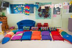Resultado de imagem para in home daycare ideas for setup Toddler Classroom Decorations, Classroom Wall Decor, Classroom Themes, Playroom, Home Daycare Rooms, Daycare Spaces, Toddler Daycare Rooms, Kids Daycare, Daycare Setup