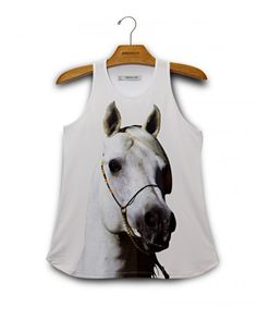 Camiseta Regata Cavalo www.usenatureza.com #UseNatureza #JeffersonKulig