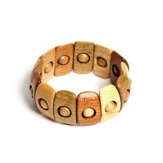 Wood bracelet unique bracelet gift for women by GalleriaCentral, $26.90