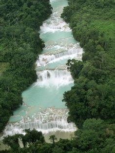 Agua Azul, Chiapas   Mexico (by kewpiebb99)