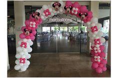 שער מיני מאוס בעיצוב דקורטיבי מבית מור בלונים Gate Minnie Mouse  Decorative design  Mor Balloons Israel Facebook https://www.facebook.com/MorBaloons/ Instagram mor_balloons