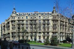 Edificio de viviendas y oficinas en Plaza Jado (Ibarreche, 1919), Bilbao